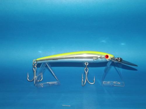 señuelo bomber magnum agua salada orig. usa 14- cm original