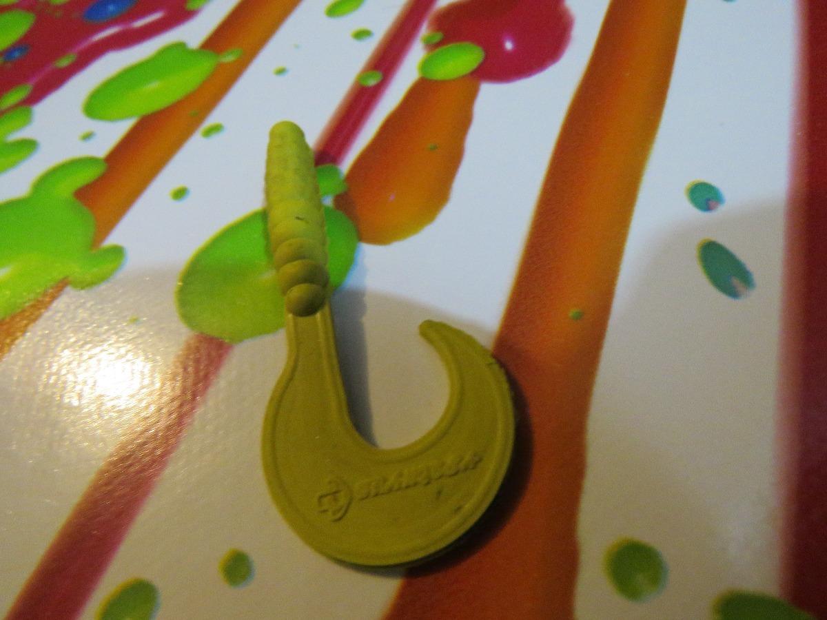 Señuelo De Pesca Grub Lobina,mojarra,trucha Color Pollo - $ 185.00 ...