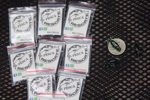 señuelo de pesca tipo grillo de silicona (4 inidades)