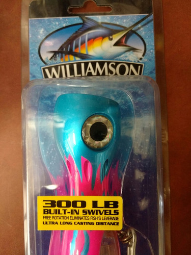 señuelo willamson jet popper 4 oz 7 pulgadas de largo
