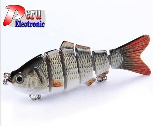 señuelos peces duros 3d cebos señuelo articulado
