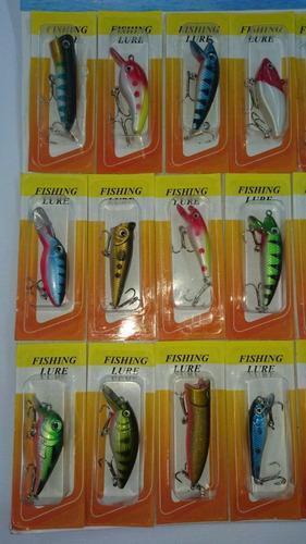 señuelos poppers. pesca. precio por unidad.