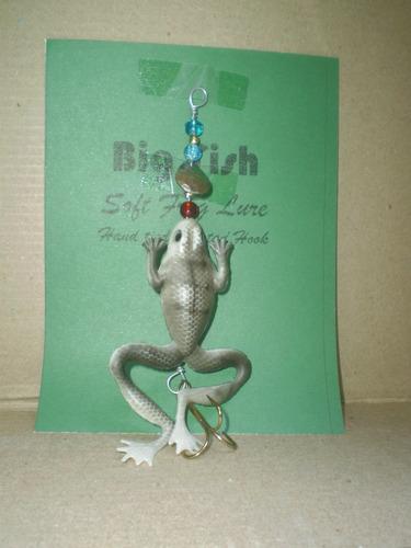 señuelos soft frog - rana reel penn abu daiwa camping