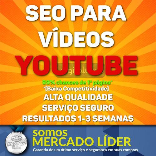 seo para youtube primeira página comprar backlinks marketing