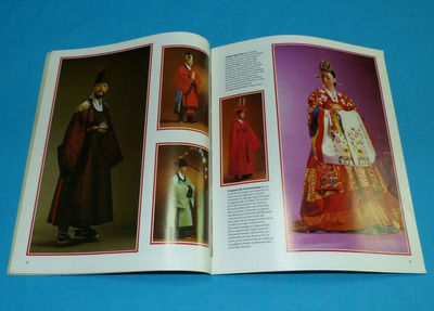 seoul 1986 corea vestidos choson flores silvestres calabazas