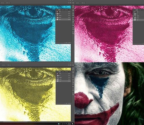 separación de colores para serigrafía