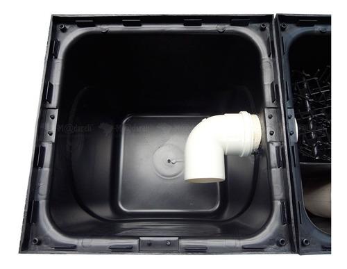 separador de água óleo + placa coalescente bomba + art crea