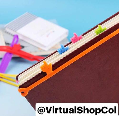 separador de libro y línea, divinos todos los colores