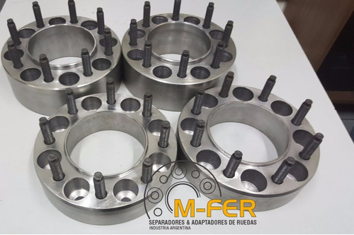 separador de llantas ruedas dodge ram 8 tornillos de acero