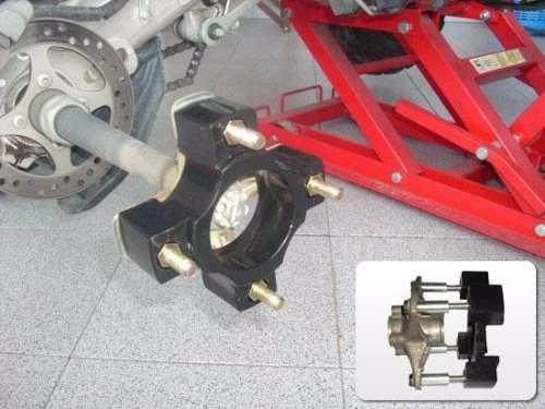separador de rueda aluminio cuatri blackstone 300 top racing