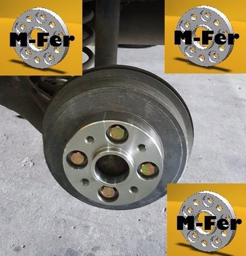 separador de ruedas chevrolet  cruze onix llantas 4x100 30mm