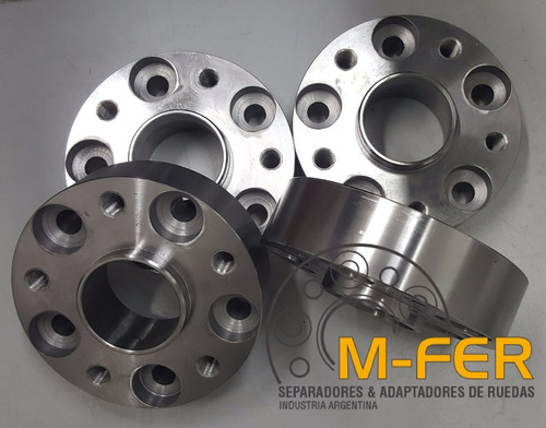 separador de ruedas vw amarok 60mm en acero 5x120 llantas