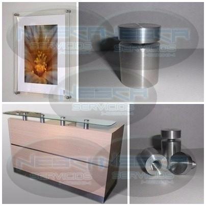 separador espejo madera acrlico aluminio cartelera sxa