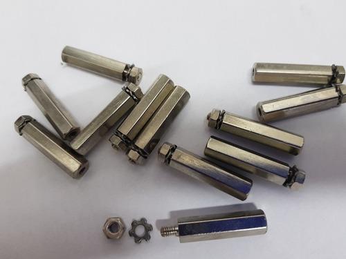 separador pcb 25mm pcb separadores hexagonales  para placa