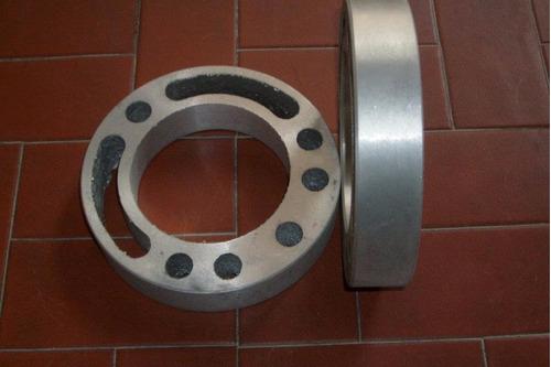 separadores de llanta de fort  en aluminio de 25m 5 agujeros