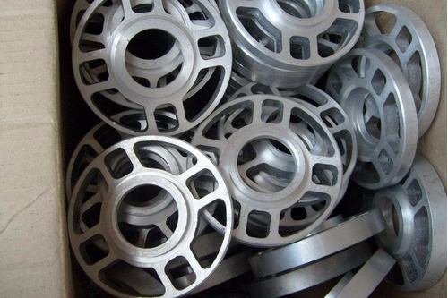 separadores de llanta de ika en aluminio de 10 m 5 agujeros