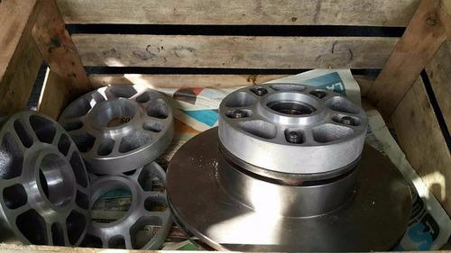 separadores de llanta de vw  en aluminio de 15 m