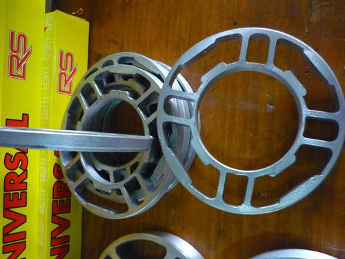 separadores de llanta de vw en aluminio de 6 mm