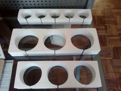 separadores de tecnopor x 50 unidades