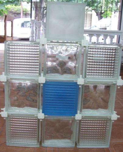 separadores plasticos para ladrillos de vidrio x 25 unidades