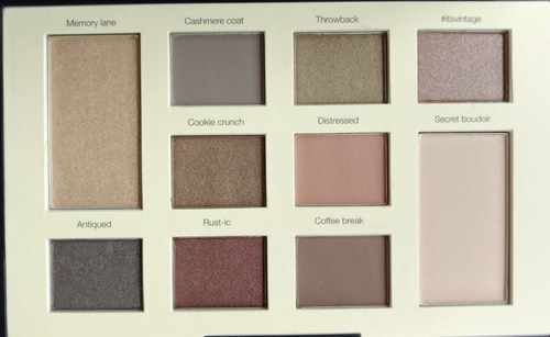 sephora collection colourful eyeshadow vintage sombras
