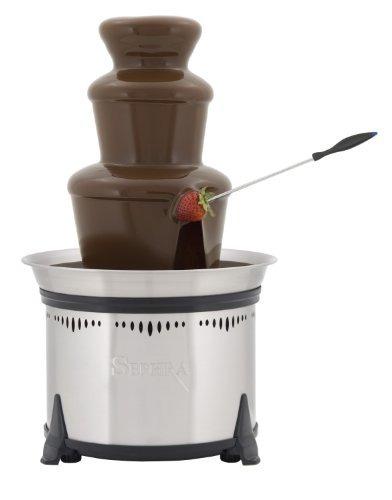 sephra classic de 18 pulgadas inicio fondue fuente