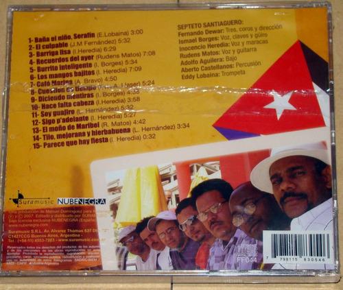 septeto satiaguero los mangos bajitos son cubano cd sellado