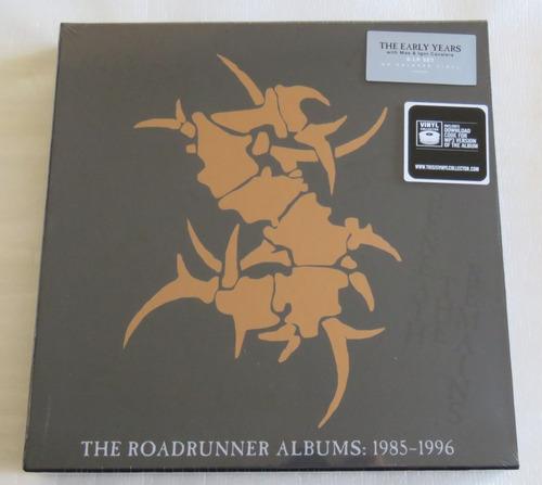 sepultura box vazio do lançamento roadrunner albums vinil ++