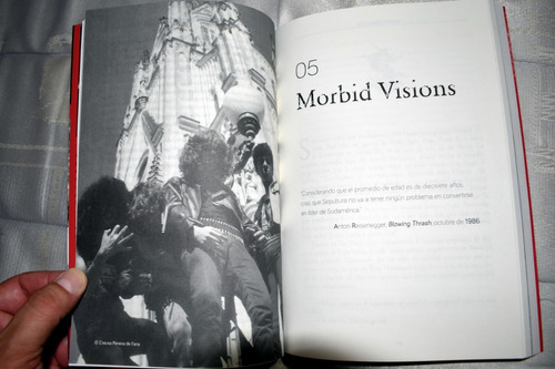 sepultura. libro  sin remordimientos (1984-1997) .