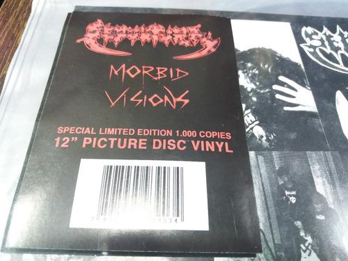 sepultura morbid visions picture disc nuevo lp oferta wf