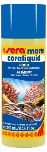 sera coraliquid 250ml - aquário marinho