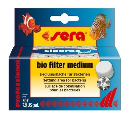 sera siporax mini 35g - para aquários de água doce e salgada