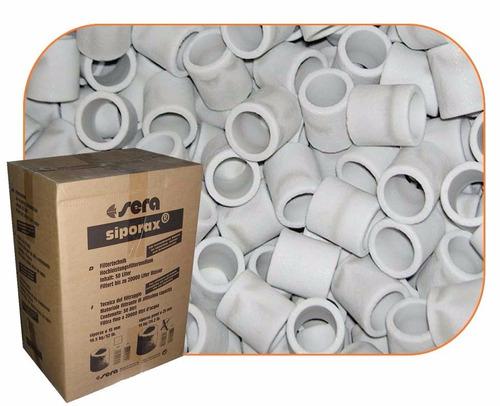 sera siporax pond filtro biológico premium 2l granel aquario
