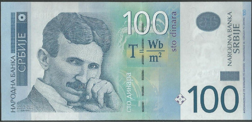 serbia 100 dinara 2013 p57b
