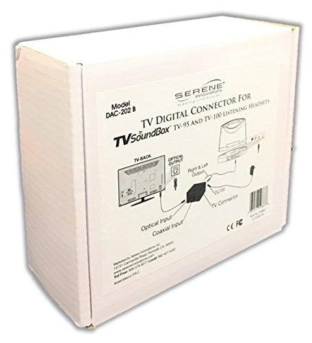 serene innovaciones dac-202b tv digital conector de audio