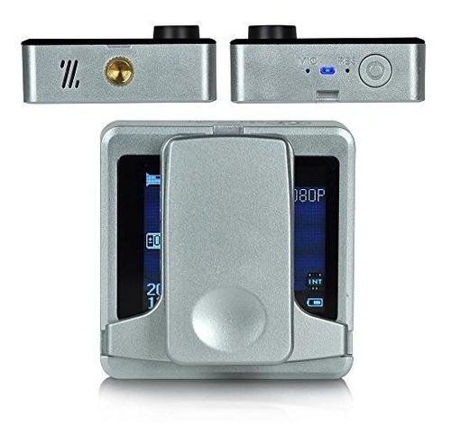serenelife camara portatil clipon 1080p full hd con wifi inc