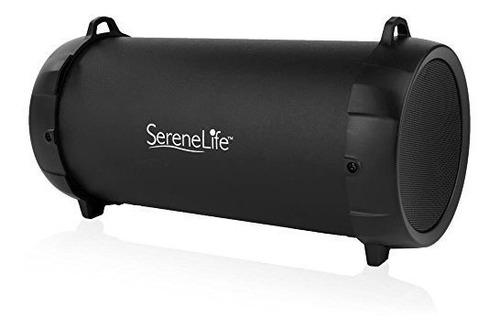 serenelife compact wireless bluetooth boombox altavoz estere