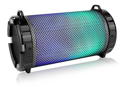 serenelife portatil inalambrico bluetooth boombox altavoz es