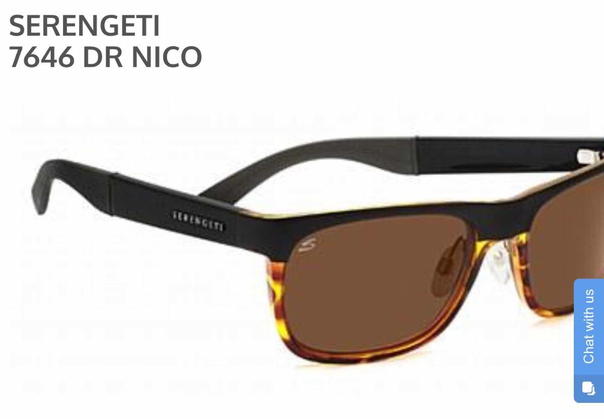 52e21048f9 Serengueti, Lentes De Sol Modelo Nico - $ 3,800.00 en Mercado Libre