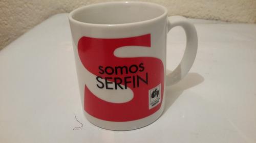 serfin taza vintage coleccionable.      (a155)