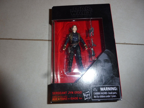 sergeant jyn erso - the black series - imperio sw