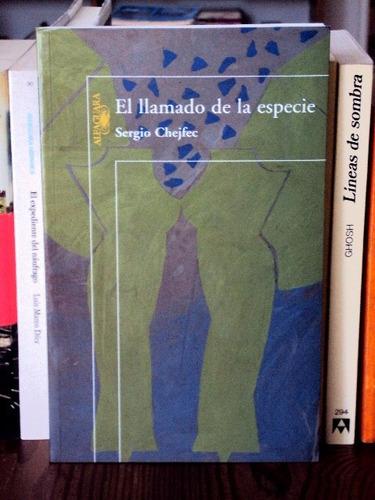 sergio chejfec, el llamado de la especie - l34