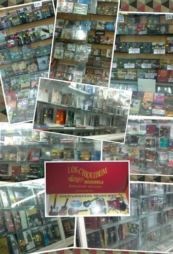 sergio dalma lote de 7 cd + 2 dvd - los chiquibum