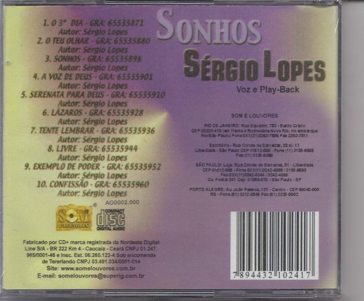 playback sergio lopes sonhos