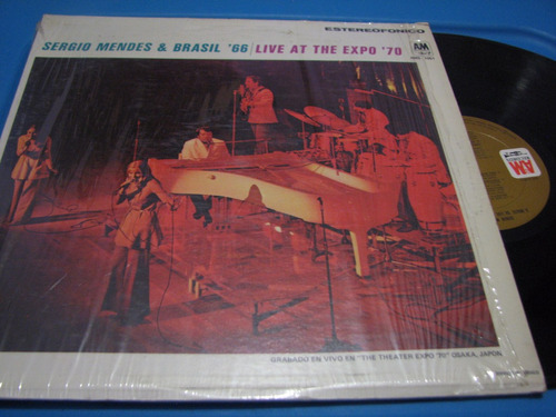 sergio mendes lp live at the expo '70