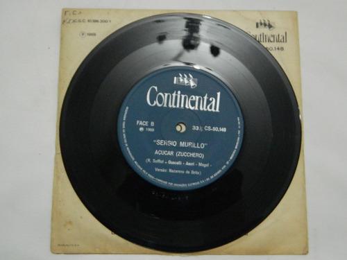 sergio murillo 1969 coraçãozinho - compacto ep 67
