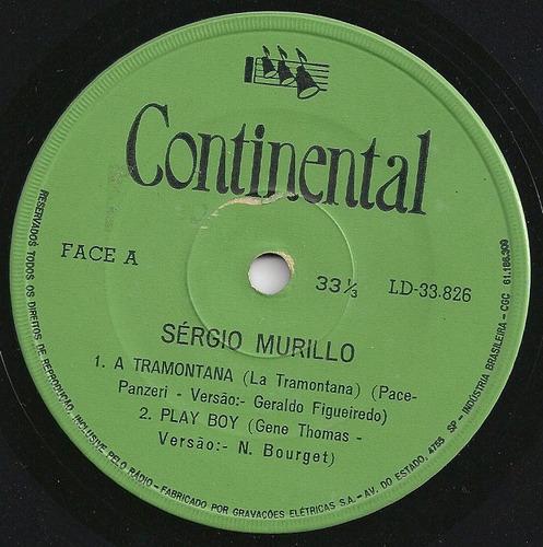 sergio murillo-compacto-vinil-lp-a tramontana-mpb