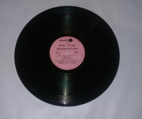 sergio vargas historia de éxitos vol 2 lp vinyl 1994 u s a