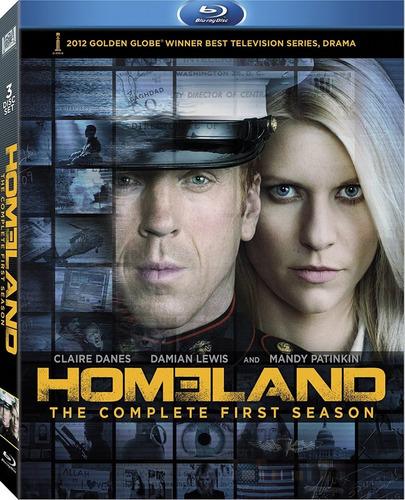 seriado homeland -1ª  e 2ª temporada - blu-ray estadunidense