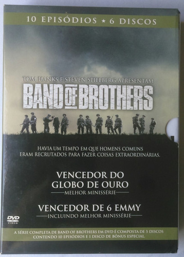 seriado/série band of brothers hbo